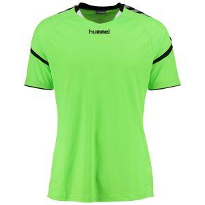 Hummel, Auth Charge, poly jersey, T-shirt, green gecko, børn