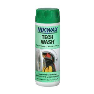 Nikwax, techwash, vaskemiddel