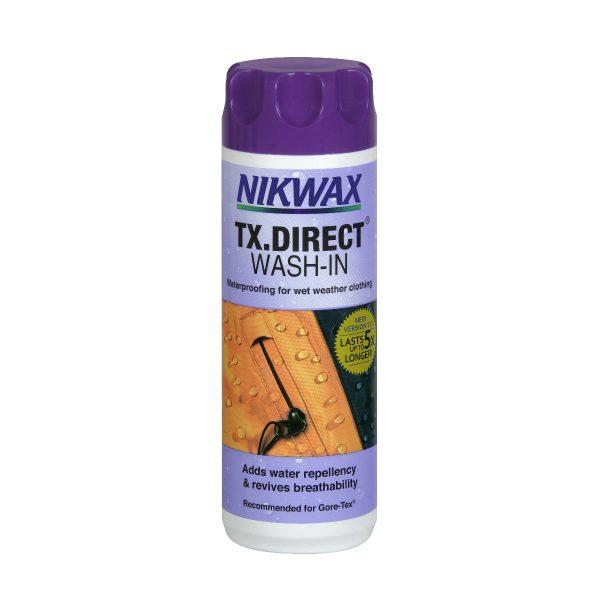 Nikwax, txdirect, washin, imprægnering
