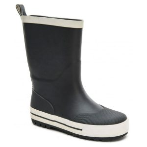 Zigzag, Paju, gummistøvler, sort, junior