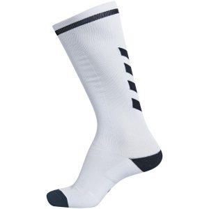 Hummel, elite indoor, sock, fodboldstrømper, hvid