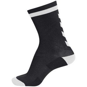 Hummel, elite indoor, sock, fodboldstrømper, sort