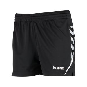 Hummel, Auth.charge, poly, shorts, sort, dame