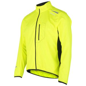 Fusion, s1, run, jacket, løbejakke, gul, yellow