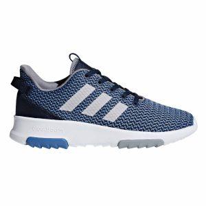 Adidas, cloudfoam, sko, blå, tr