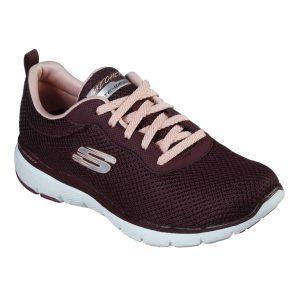 Skechers, Flex Appeal,3.0, sko, bordeaux