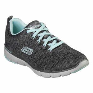 Skechers, Flex Appeal, 3.0, sko, grå