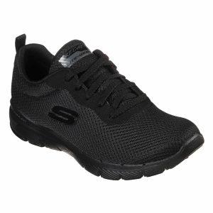 Skechers, Flex Appeal, 3.0, sko, sort