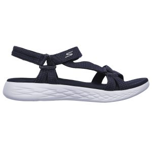 Skecers, on-the-go, sandal, navy