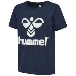 Hummel, Tres, T-shirt, Navy