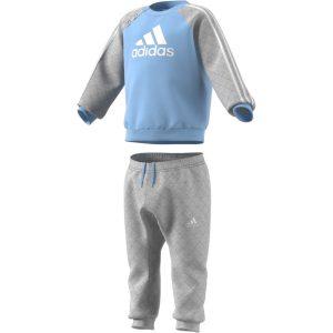 Adidas, babyjogger, blå, grå
