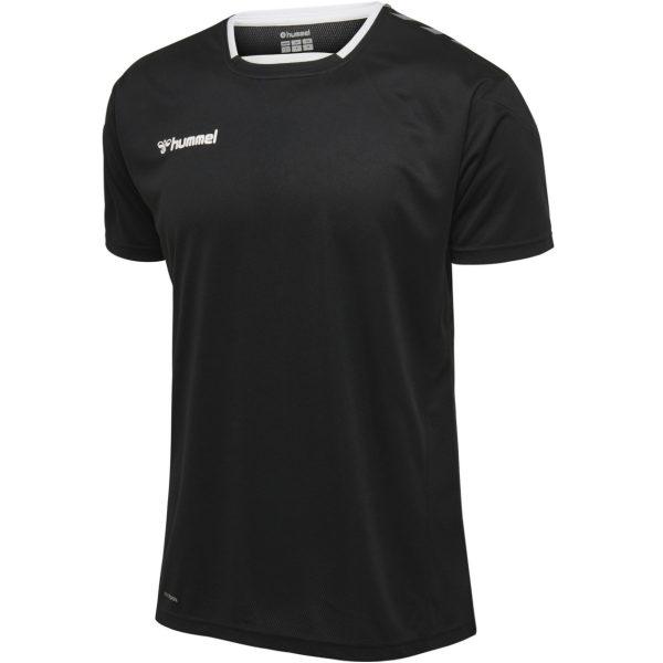 Hummel Authentic T shirt Sort Herre