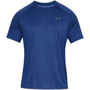 Under Armour, T-shirt, blå melange