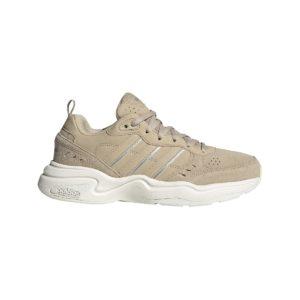 Adidas, strutter, sko, sandfarvet