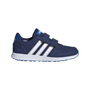 Adidas, vs, switch, sko, blå