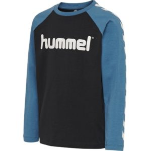 Hummel, boys, ls, t-shirt, langærmet