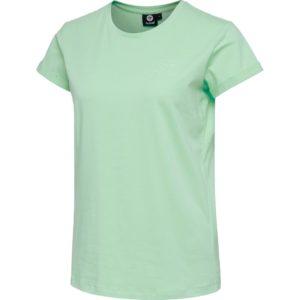 Hummel, isobella, t-shirt, grøn