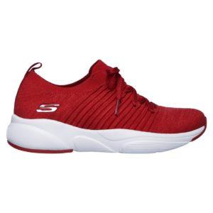 Skechers, Meridian, sko, rød