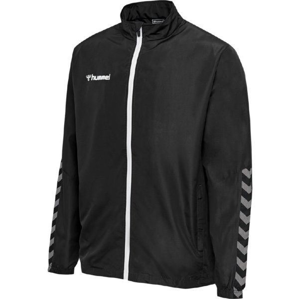 Hummel, Authentic, microjacket, sweatshirt, sort, herre
