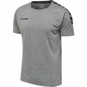 Hummel, Authentic, T-shirt, grå