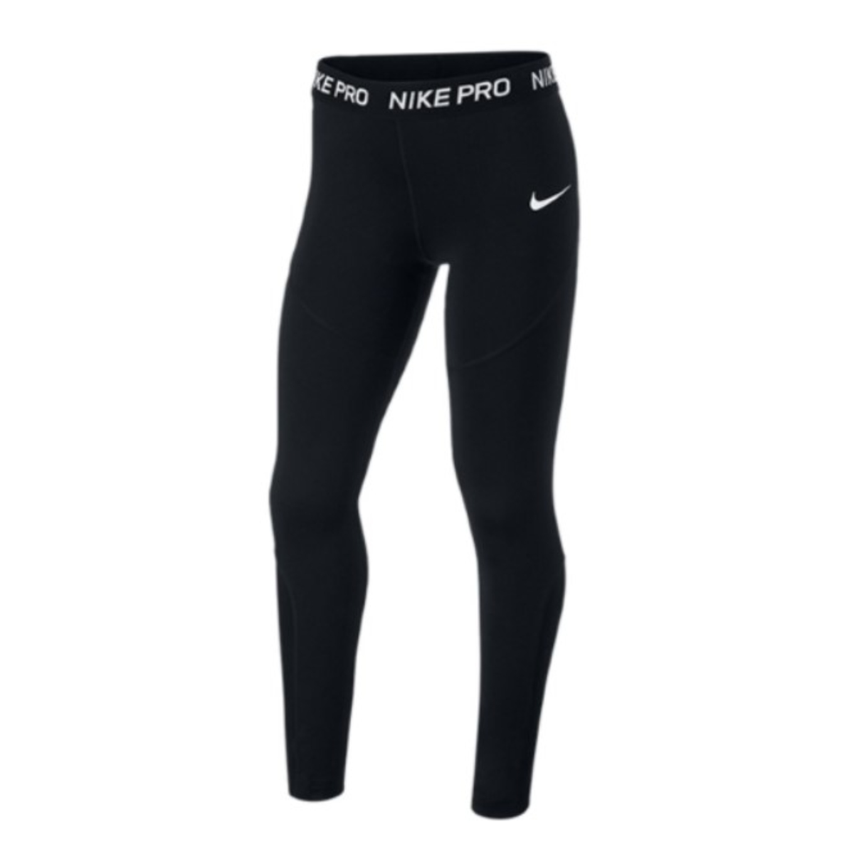 Nike, pro, tights, sort