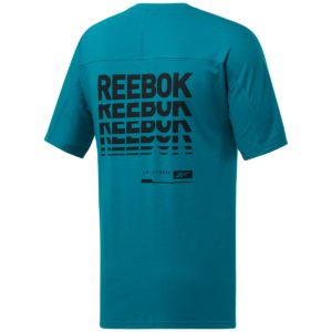 Reebok, Speedwick, T-shirt, graphic, move, grøn