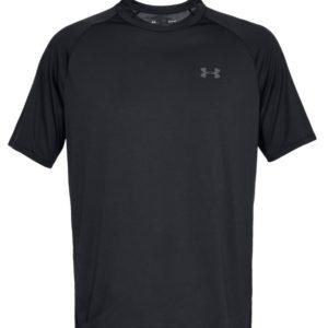 Under Armour, T-shirt, sort