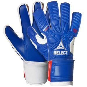 Select, goalkeeper gloves, 88, målmandshandsker, blå, hvid, rød