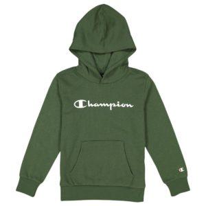 Champion, hættetrøje, grøn, junior
