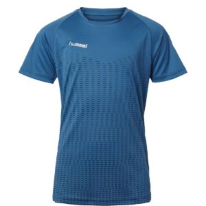 Hummel, challenger, t-shirt, blå