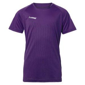 Hummel, challenger, t-shirt, lilla