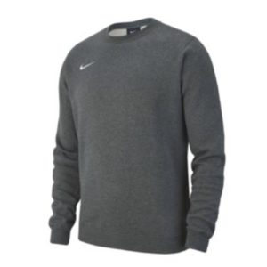 nike, crew, sweatshirt, grå