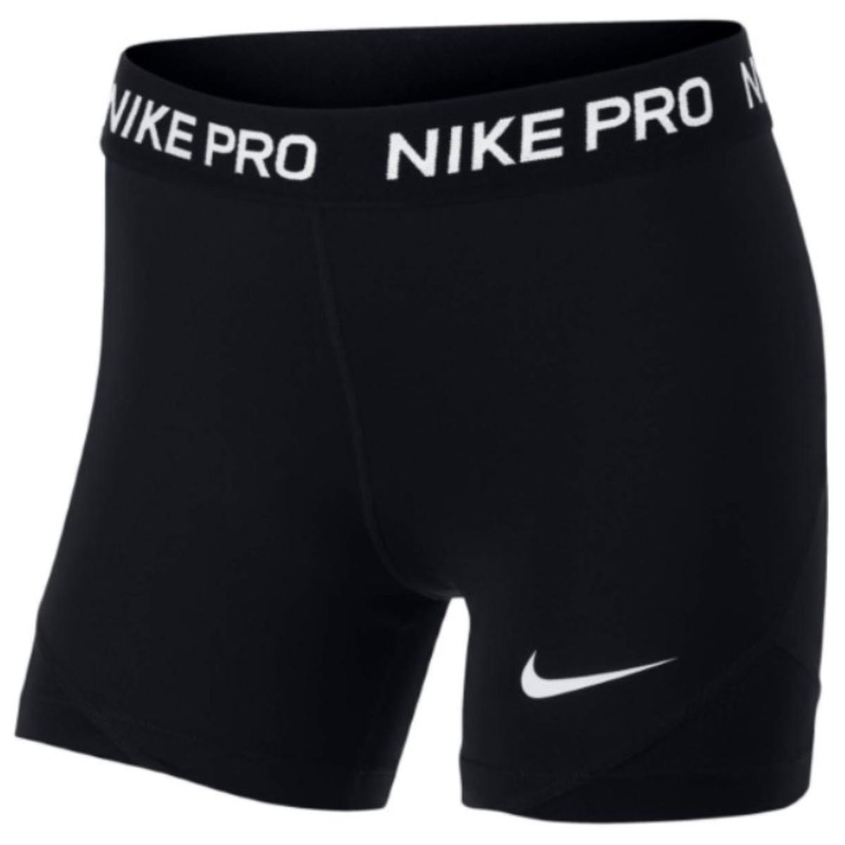 Nike, pro, tights, sort, kort
