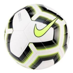 Nike, strike, fodbold, hvid