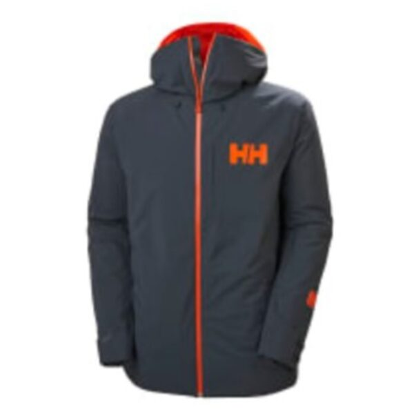 Helly Hansen Powderface Skijakke Grå Herre