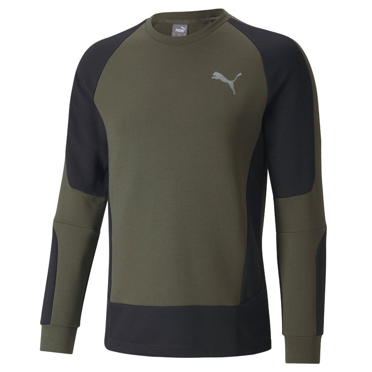 Puma Evostripe Sweatshirt Grøn Herre