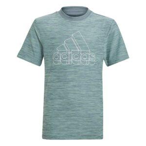 Adidas Logo T-shirt Grøn Junior